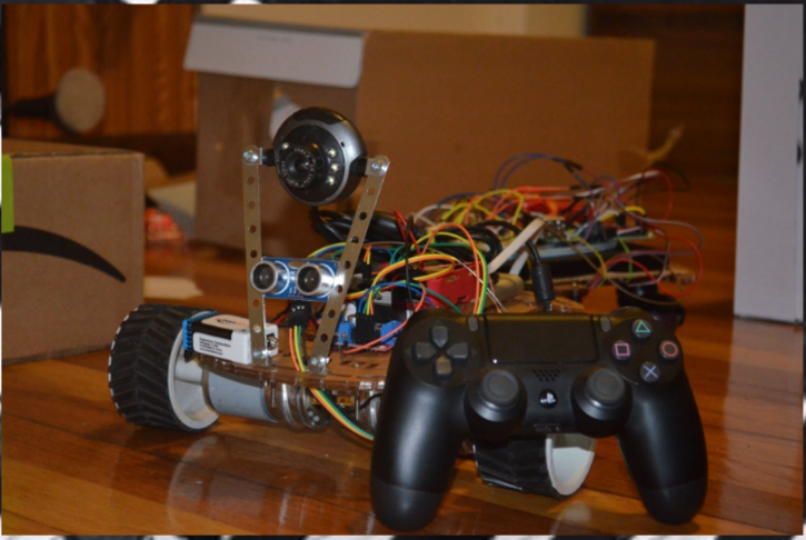 Car with Controller